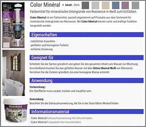 Resinence Beton Mineral : epoxidharz versieglung auf wasserbasis f r mineral beton infabe ~ Sanjose-hotels-ca.com Haus und Dekorationen