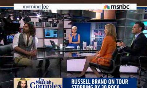 russell brand on morning joe russell brand mocks msnbc s morning joe panel these are