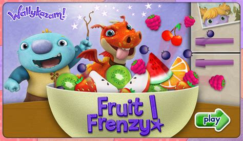nickalive nickelodeon preschool launches new quot wallykazam 900 | Wallykazam Fruit Frenzy Online Game Title Nickelodeon Preschool Nick Jr Junior Jnr NickJr Dot Com