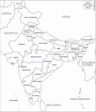 Best India Map with States - ideas and images on Bing   Find what ...