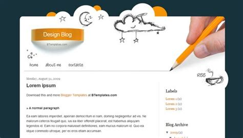 blog design design template btemplates