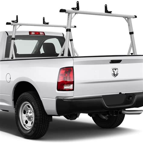 ladder racks for trucks vantech p3001 65 quot aluminum cl on mid size truck