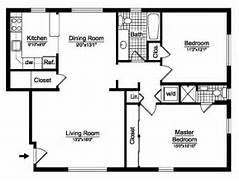 2 Bedroom House Plans Free  Two Bedroom  Floor Plans  Prestige Homes Flori