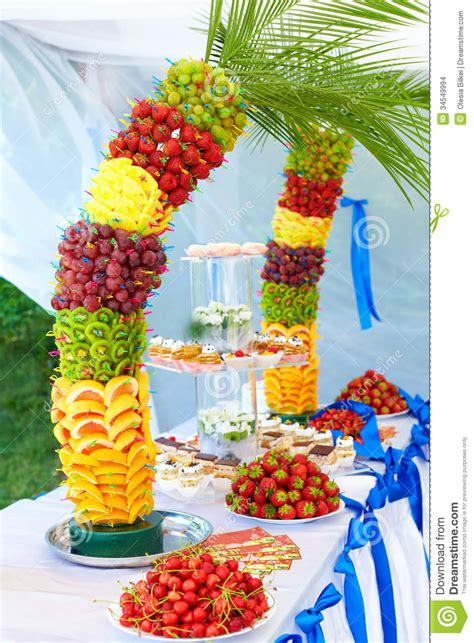 Colorful Fruit And Cake Decoration On Banquet Party Stock. Decorative Home Accents. Decorative Oar. Dining Room Bench With Back. Decorative Cart. Airplane Nursery Decor. Living Room Poufs. Wedding Rustic Decor. How To Decorate A Living Room