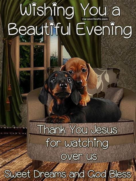 wishing   beautiful evening   jesus