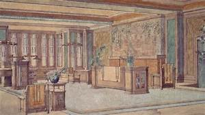 Thaxter Shaw House, Living Area, 1906 - Frank Lloyd Wright ...