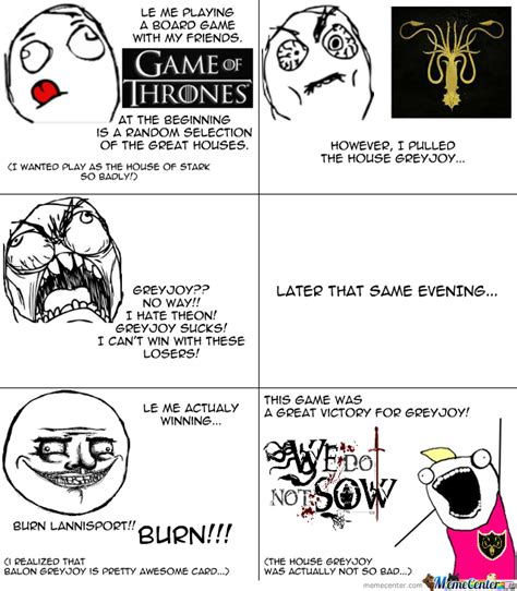 Board Game Memes - a board game game of thrones by needmore meme center