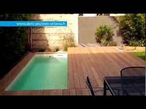 terrasse mobile pour piscine movingfloor octavia With prix veranda piscine couverte