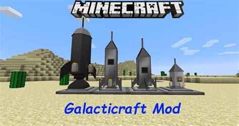 Galacticraft || Minecraft Mod 1.7.10 - YouTube
