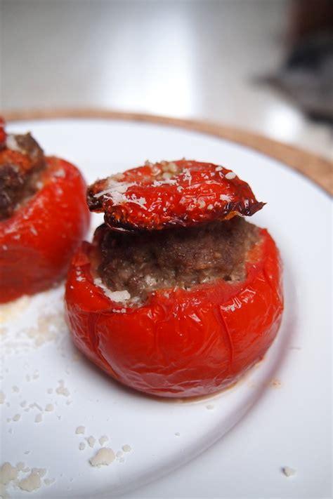 ma cuisine italienne tomates farcie au bœuf à l italienne dans ma cuisine