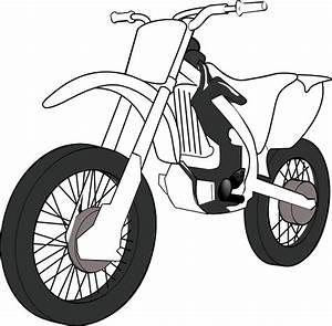 Black White Motorcycle Clip Art at Clker.com - vector clip ...