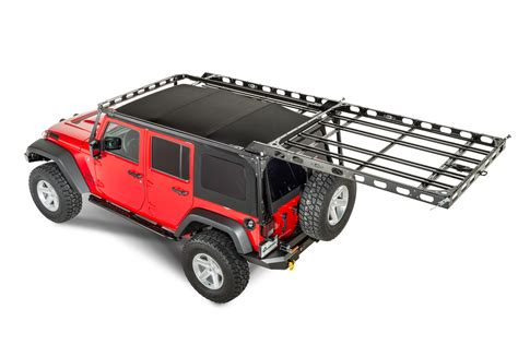 jeep roof rack lod easy access roof rack system for 07 17 jeep 174 wrangler