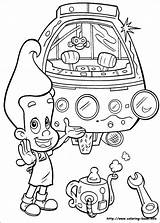 Neutron Jimmy Coloring Pages Children Drawing Drawings Para Sketches Carl Da Colorir Info Wheezer Incredible Crayon Colors Characters Disegni Colouring sketch template