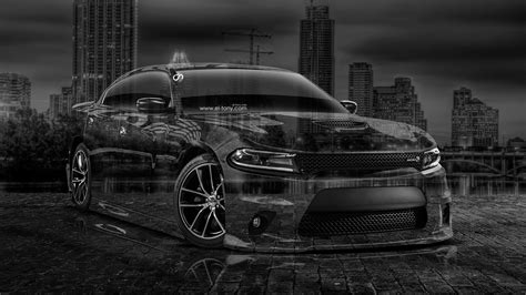 Black Dodge Charger Rt Wallpaper