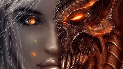 Demon Angel Fantasy Face Angels Diablo Wallpapers