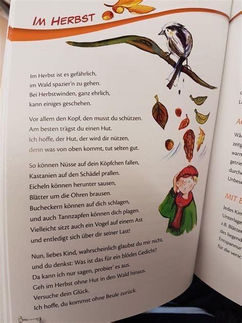 Herbst Im Garten Gedicht by Im Herbst Kindergarten Erzieher Reim Gedicht Kita