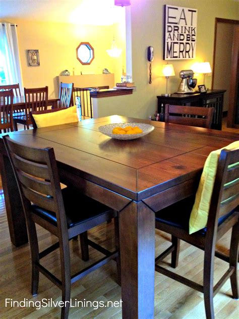 counter height kitchen table finding silver linings