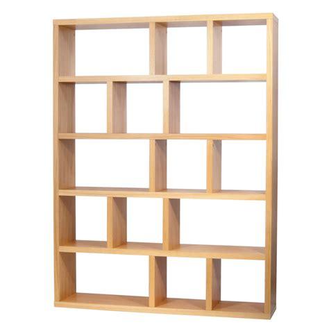 meuble bout de canapé etagère bibliothèque berlin 5 niveaux 150 cm chêne 9500 316777 achat vente etagère