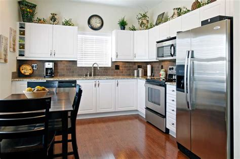 Ideas For Small Apartment Kitchens - a kitchen update in new albany dave fox