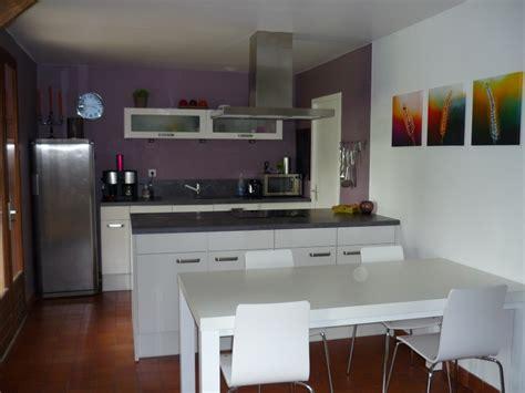 cuisine couleur blanche couleur mur pour cuisine blanche inox