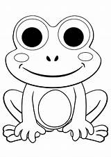 Coloring Frogs Printable Frog Sheets Cartoon Justcolor Children Adult Spring Animal Birthday Happy Kindergarten Animals Coloringpagesonly sketch template