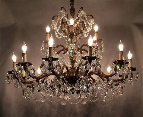 brass and crystal ls antique brass chandelier with crystals light fixtures