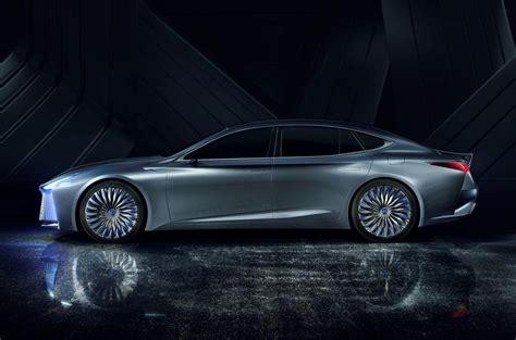 george nelson ls concept lexus ls concept illustrates autonomous tech due in 2020