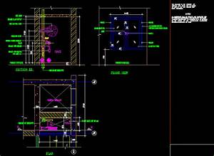 Fire House Cabinet DWG Detail for AutoCAD • DesignsCAD