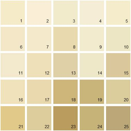 benjamin moore paint colors yellow palette 03 house