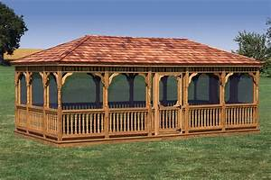 vinyl wood gazebos for sale md nj With amish backyard structures