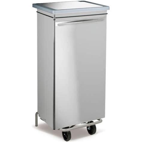 poubelle de cuisine professionnelle poubelle cuisine carénée 100 l professionnelle