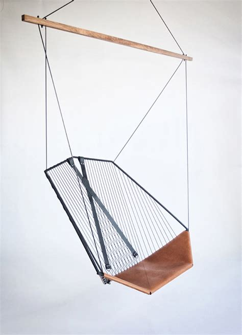 chaise suspendue interieur hanging chair fubiz media
