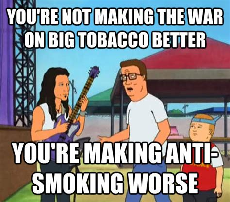 Anti Smoking Meme - livememe com you re not making christianity any better you re just making rock and roll worse