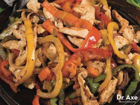 cuisine mexicaine fajitas chicken fajitas recipe draxe com