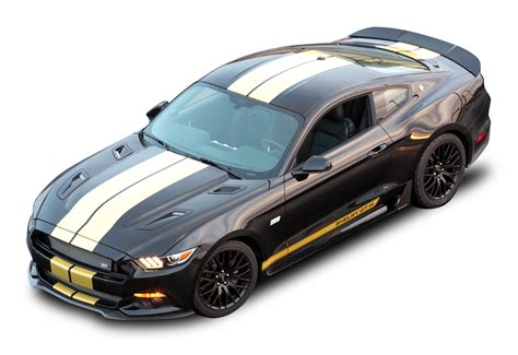 Black Ford Shelby Gt H Top View Car Png Image