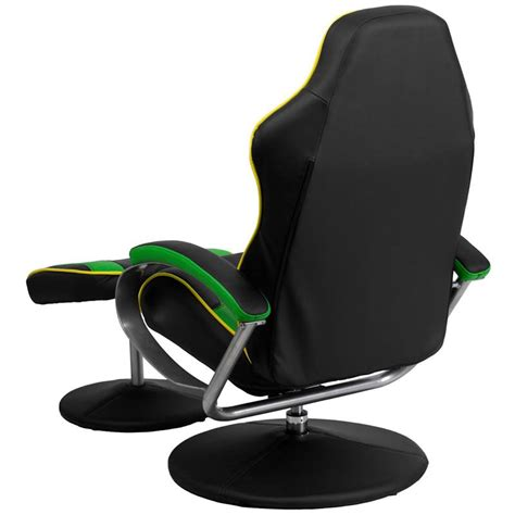 racing seat recliner gaming room lounge chair