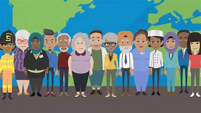 Diversity Vyond Clipart Animation Inclusion Globohomo Christianity