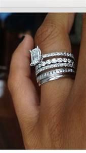 New Wedding Ring Trend Stacked Rings Arabia Weddings