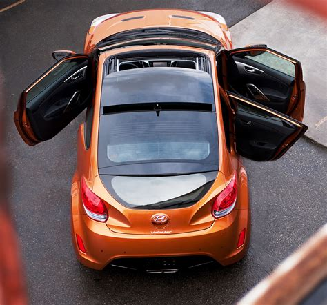 hyundai veloster doors new for 2012 hyundai veloster 3 door compact coupe down
