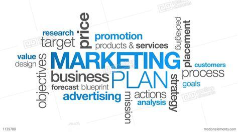 Business Marketing - marketing plan stock animation 1139780