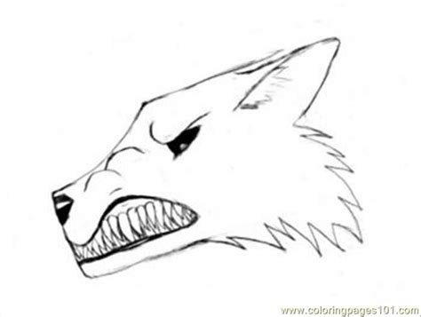 narling wolf tutorial drawing coloring page  wolf