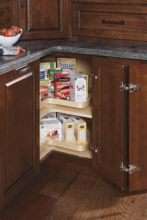 cabinet lazy susan base super schrock wall diagonal segmented deep kemper rails bin organization kempercabinets chrome close favorite