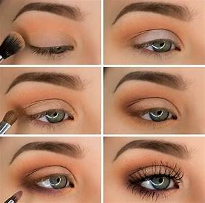 Step-by-step eye makeup ideas for blue eyes in trends 2016