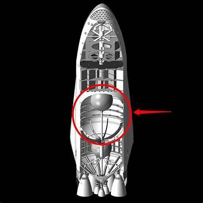 Spacex Mars Spaceship Musk Elon Rocket Tank