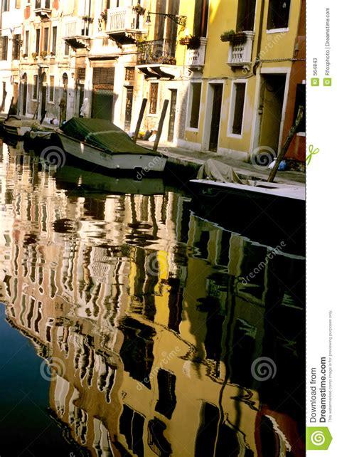 Boat Dealers Near Venice by Grand Canal Near Bridge Rialto In Venice Italia Royalty