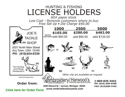 vinyl wall license holders and fishing