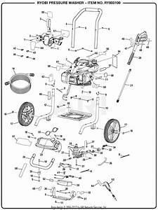 Homelite Ry803100 Pressure Washer Mfg  No  090079285 Parts