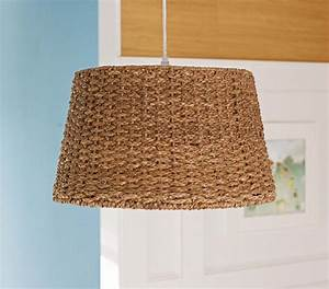 Woven pendant drum light contemporary lighting
