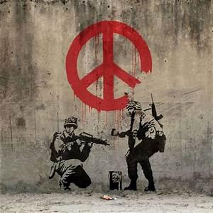 Nick Stern's Living Recreations Of Banksy's Street Art ...