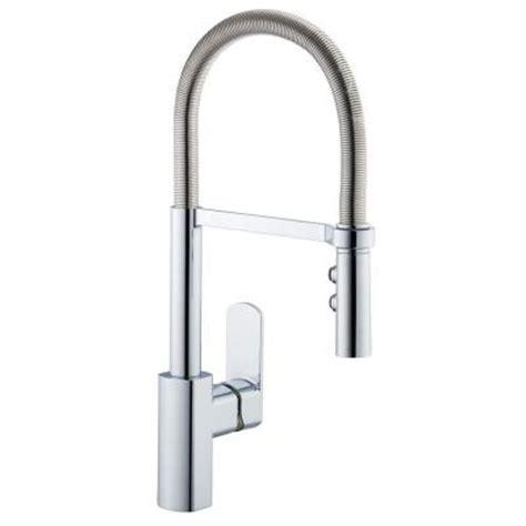 pegasus kitchen faucet pegasus 1250 series spring neck single handle pull down sprayer kitchen faucet in stainless